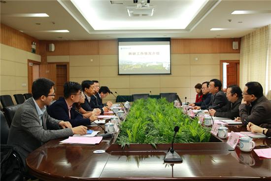 内蒙古科技大学副校长王建国一行来校考察